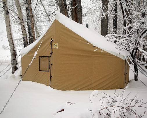 Montana lodge tent montana canvas for Canvas wall tent reviews