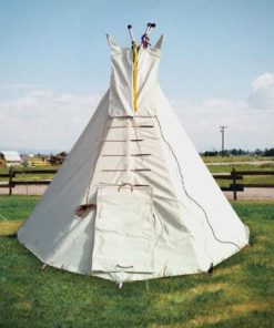 9' Child's Tipi with Metal Frame