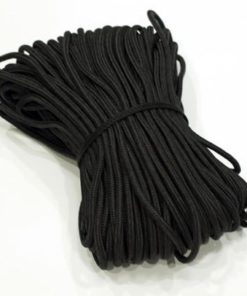 Black Poly Tent Rope