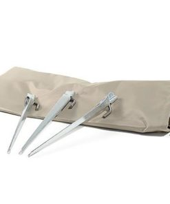 "Tent Stakes  (12"") with Carrying Bag"