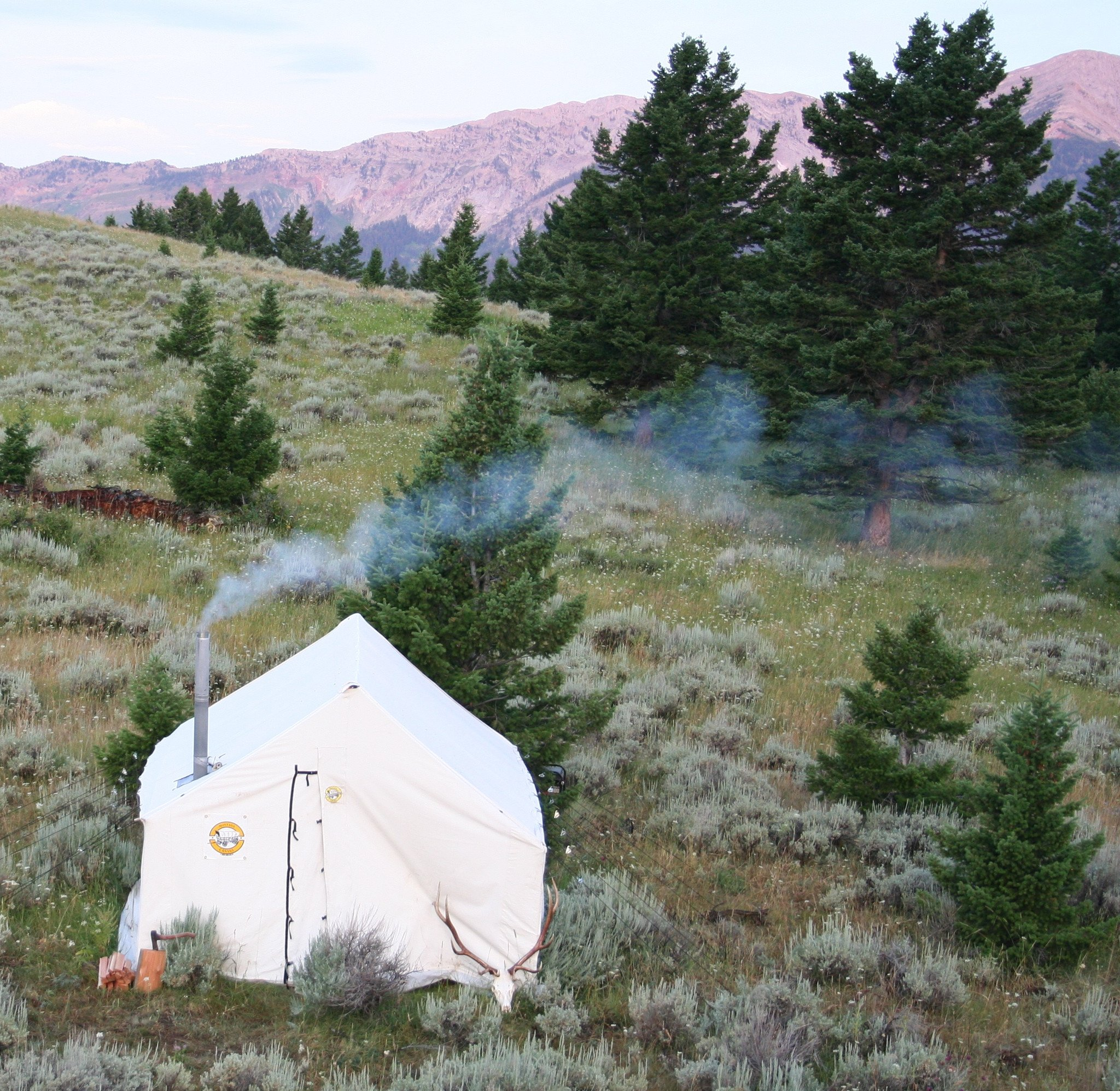 Traditional 10 oz. Canvas Wall Tent – Montana Canvas