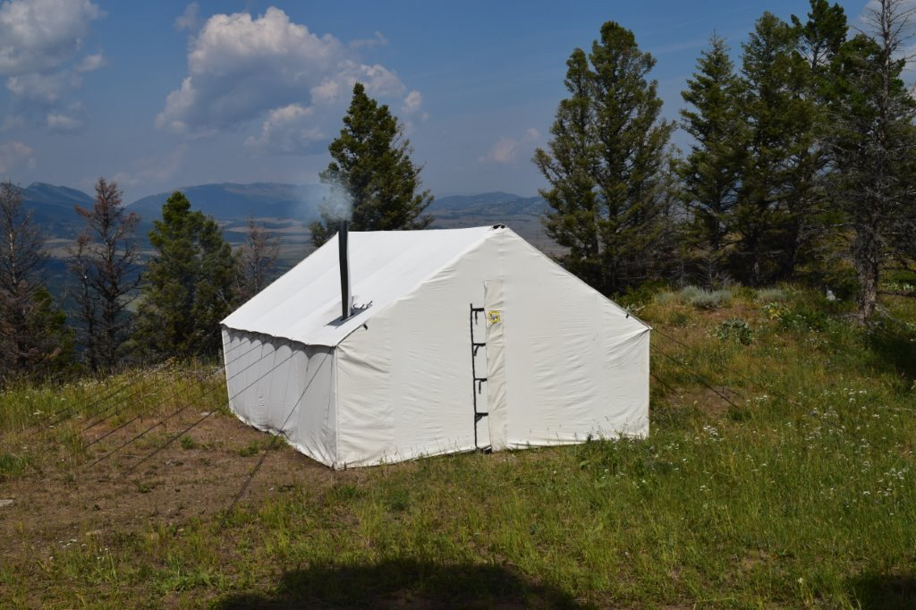Premium 12 oz  Canvas Wall Tent