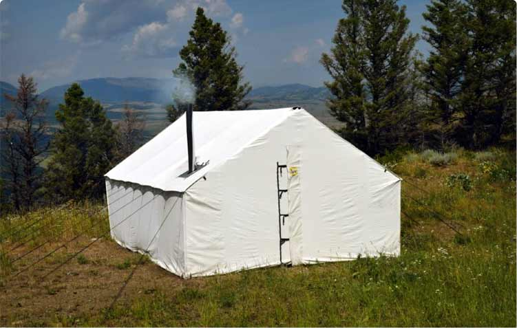 buy popular ac3a2 68070 Canvas Wall Tents | Canvas Wall Tents Montana - Montana Canvas