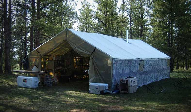 Shop Montana Canvas & About Us | Custom Tents - Montana Canvas