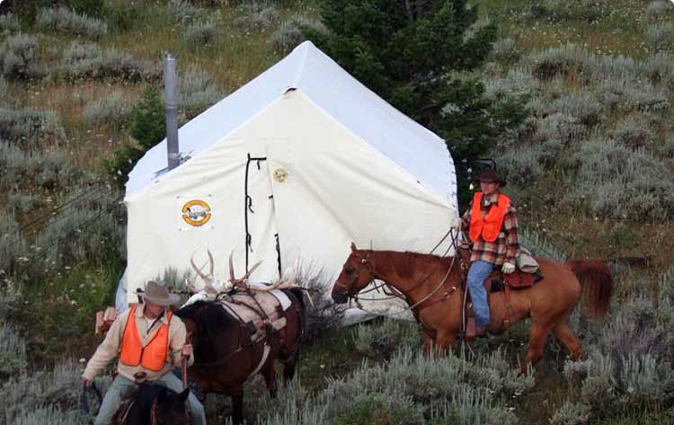 Traditional & Wall Tents | Wall Tents Montana - Montana Canvas Wall Tents
