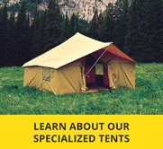 Image Column & Wall Tents | Wall Tents Montana - Montana Canvas Wall Tents