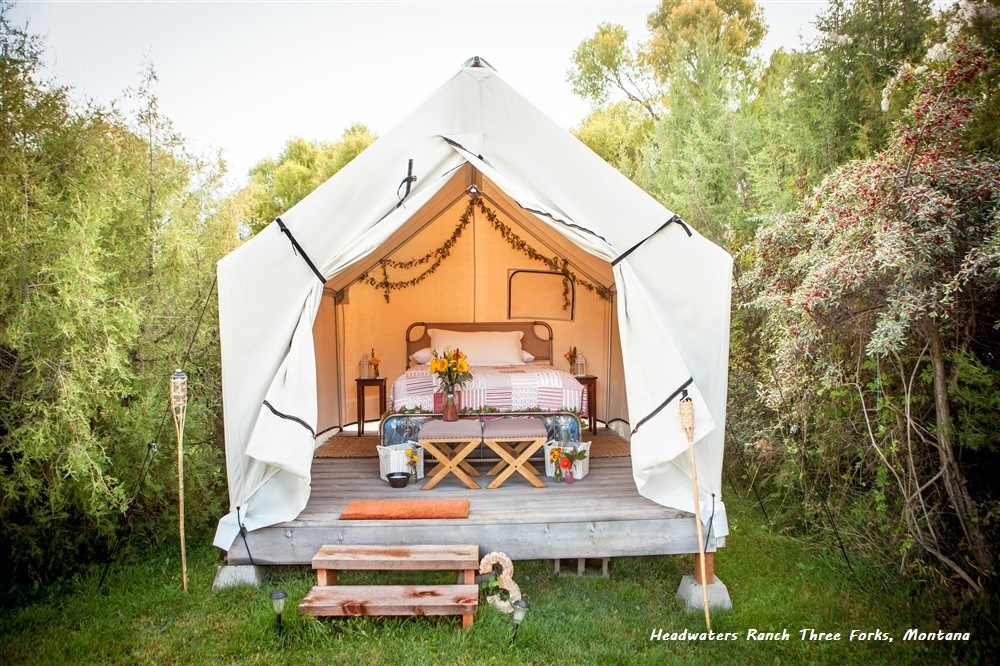 Glamping Tents | Luxury Glamping Tents - Montana Canvas